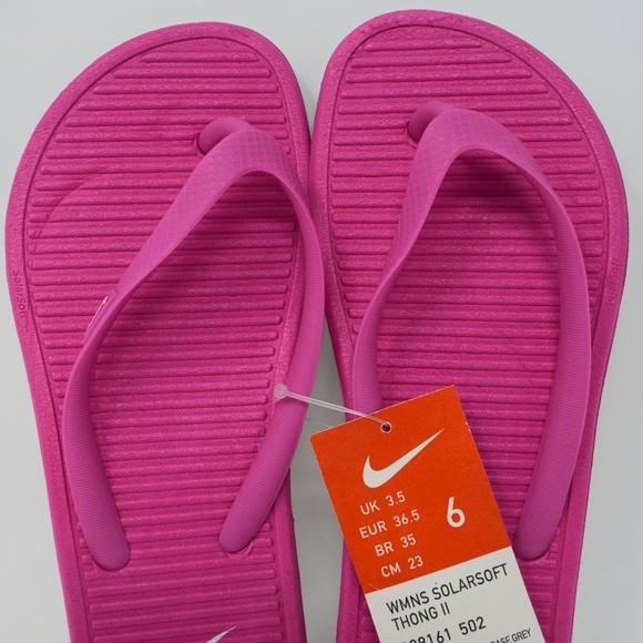 5d15fdef3 Nike Women Solarsoft Thong Ii Sandals 488161-502